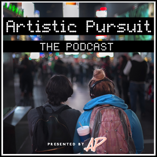 The Artistic Pursuit Podcast Logo