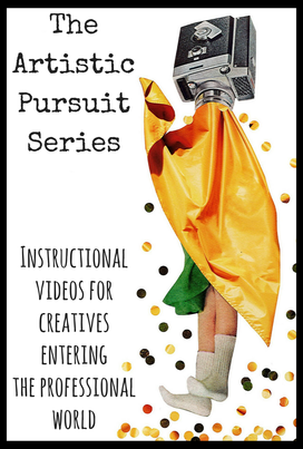 The Artistic Pursuit Logo by Sarah Babin